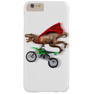 Flying t rex  - t rex motorcycle - t rex ride barely there iPhone 6 plus case