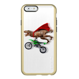 Flying t rex  - t rex motorcycle - t rex ride incipio feather shine iPhone 6 case