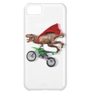 Flying t rex  - t rex motorcycle - t rex ride iPhone 5C cover