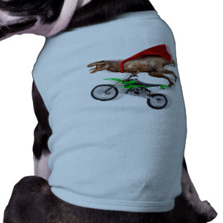 Flying t rex  - t rex motorcycle - t rex ride tee