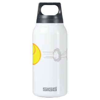 Flying Tennis Ball Insulated Water Bottle
