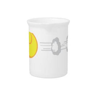 Flying Tennis Ball Beverage Pitcher