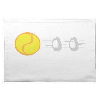 Flying Tennis Ball Placemat