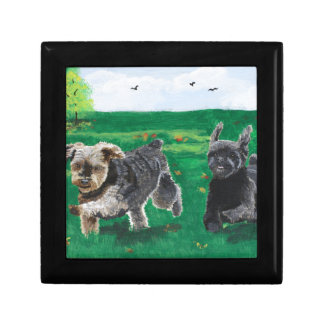 Flying Terriers Jewelry Box