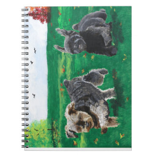 Flying Terriers Spiral Notebook