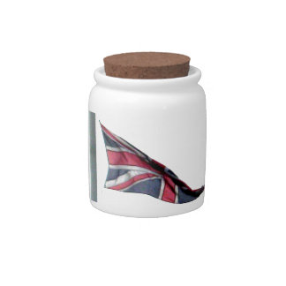Flying the Flag for Britain Union Jack Candy Jars