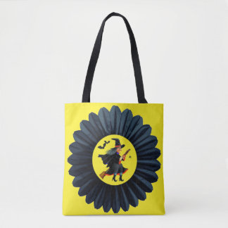Flying Through the Moonlight Tote Bag