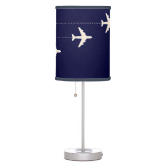 Flying through the sky table lamp
