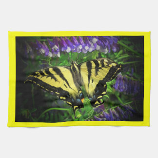 Attractive Flying Tiger Butterfly Kitchen Towel