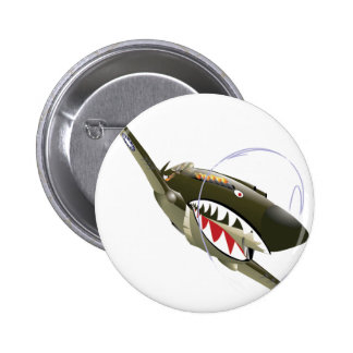 FLYING TIGER PINBACK BUTTONS