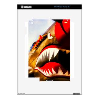 Flying tiger iPad 2 decals
