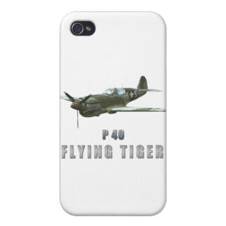 Flying Tiger iPhone 4 Cover
