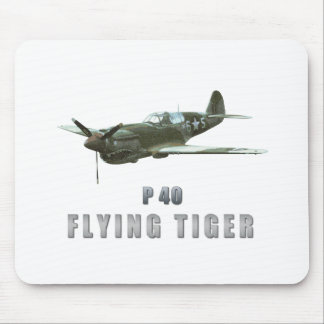 Flying Tiger Mouse Pad