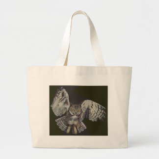 Flying Tiger Owl Canvas Bags