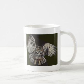 Flying Tiger Owl Coffee Mug