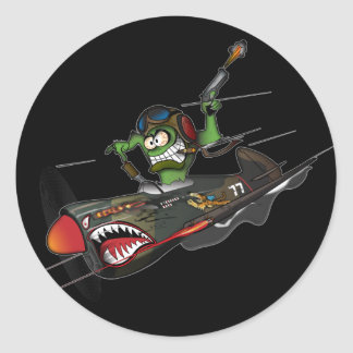 Flying Tiger Sticker