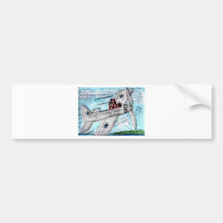 Flying Tigers Airlines Bumper Sticker