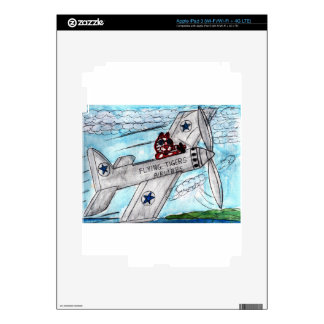 Flying Tigers Airlines Decal For iPad 3