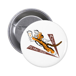 Flying Tigers Buttons