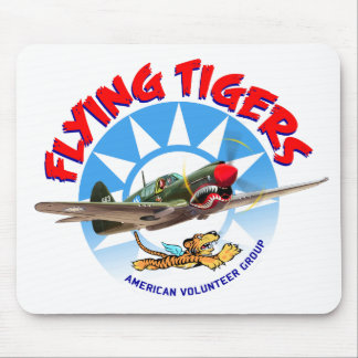 Flying Tigers Mouse Pad