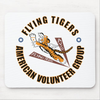 Flying Tigers Mouse Pads