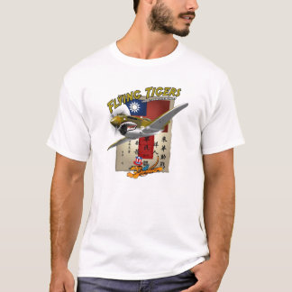 Flying Tigers P-40 Blood Chit T-Shirt