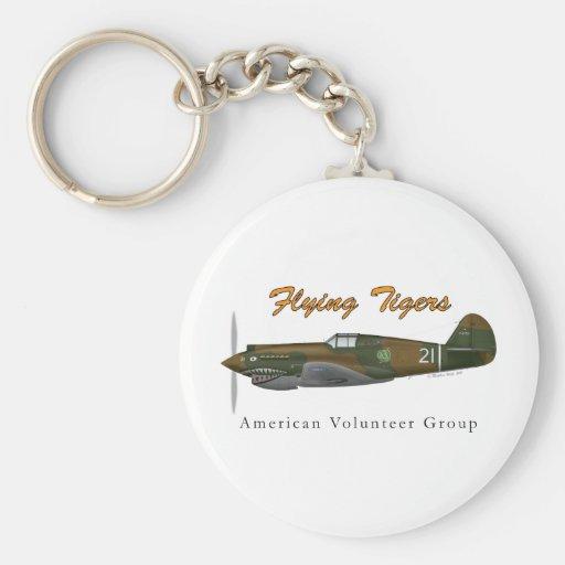 Flying Tigers P-40B Llavero