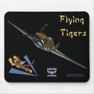 Flying Tigers P-40B Warhawk Mousepad Alfombrilla De Raton