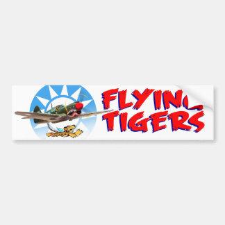 Flying Tigers Pegatina Para Auto