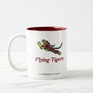 Flying Tigers Pilot Mug - Right Handed