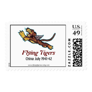 Flying Tigers Postage Stamp