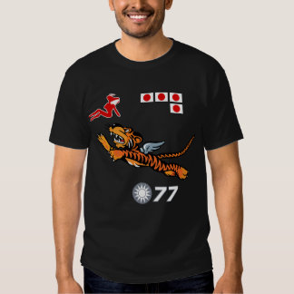 Flying Tigers WWII Nose Art Shirt