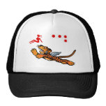 Flying Tigers WWII Nose Art Trucker Hat