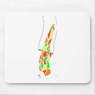 Flying Trapeze Planche Mouse Pad
