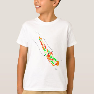 Flying Trapeze Planche T-Shirt