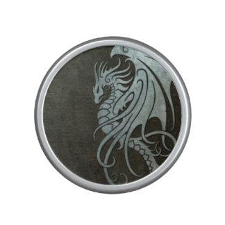 Flying Tribal Dragon – Industrial Steel Effect Bluetooth Speaker
