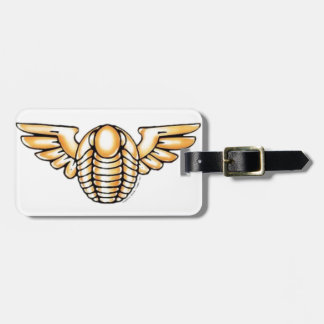 Flying Trilobite Tag For Bags