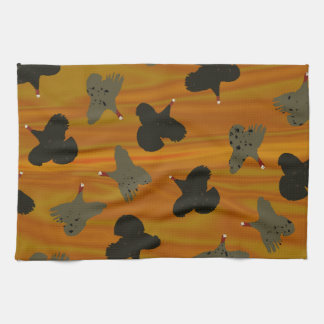 Flying Turkey Sunset Kitchen Towel