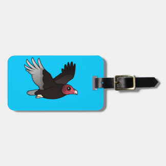 Flying Turkey Vulture Tag For Luggage