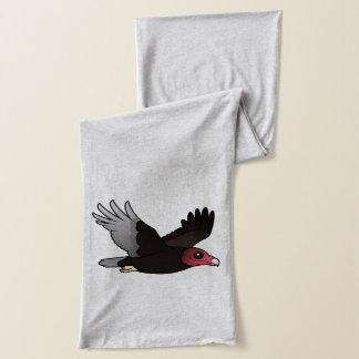 Flying Turkey Vulture Scarf