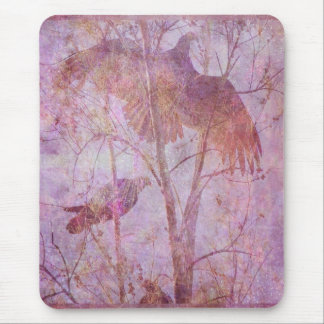 Flying Turkeys Mouse Pad