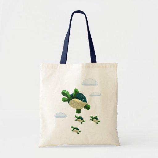 Flying turtle bags