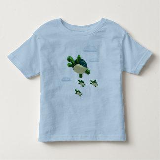 Flying turtle toddler t-shirt