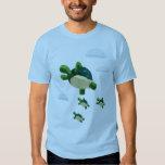 Flying turtle tshirt