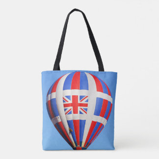 Flying UK All Over Print Tote Bag