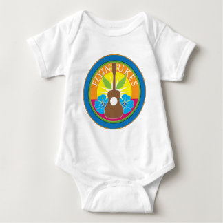 Flying Ukes Baby Bodysuit