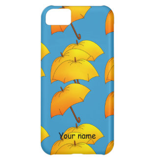 Flying umbrellas case for iPhone 5C