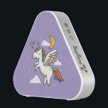 """Flying Unicorn Bluetooth Speaker<br><div class=""""desc"""">A whimsical,  flying unicorn fluttering through the clouds.</div>"""