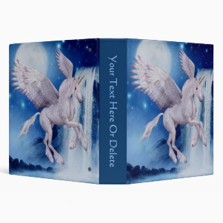 Flying Unicorn Fantasy Horse Binder