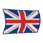 Flying Union Jack Embroidered Mens Polo